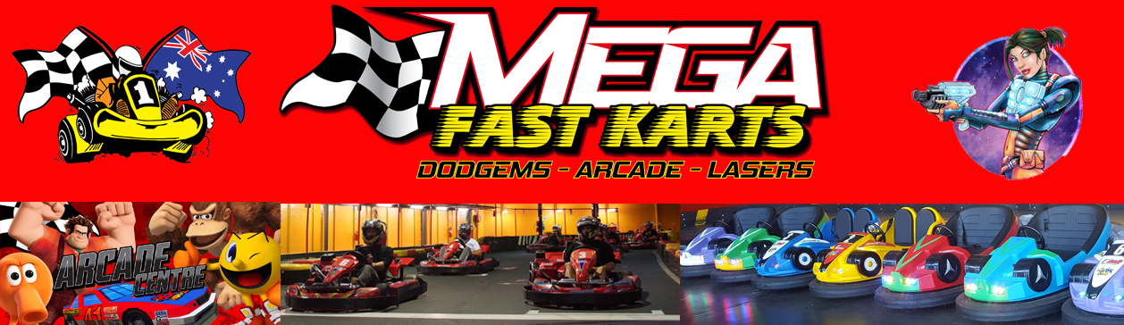 Mega Fast Karts and Laser Skirmish