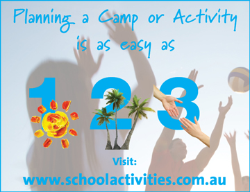 Ideas for School Camps, School Excursions and School Incursions